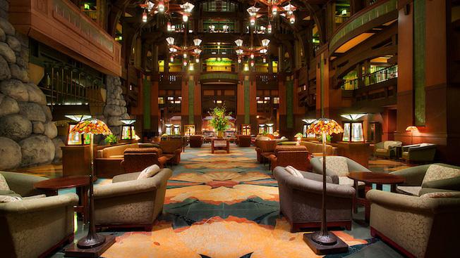 Grand Californian Hotel Anaheim Disney