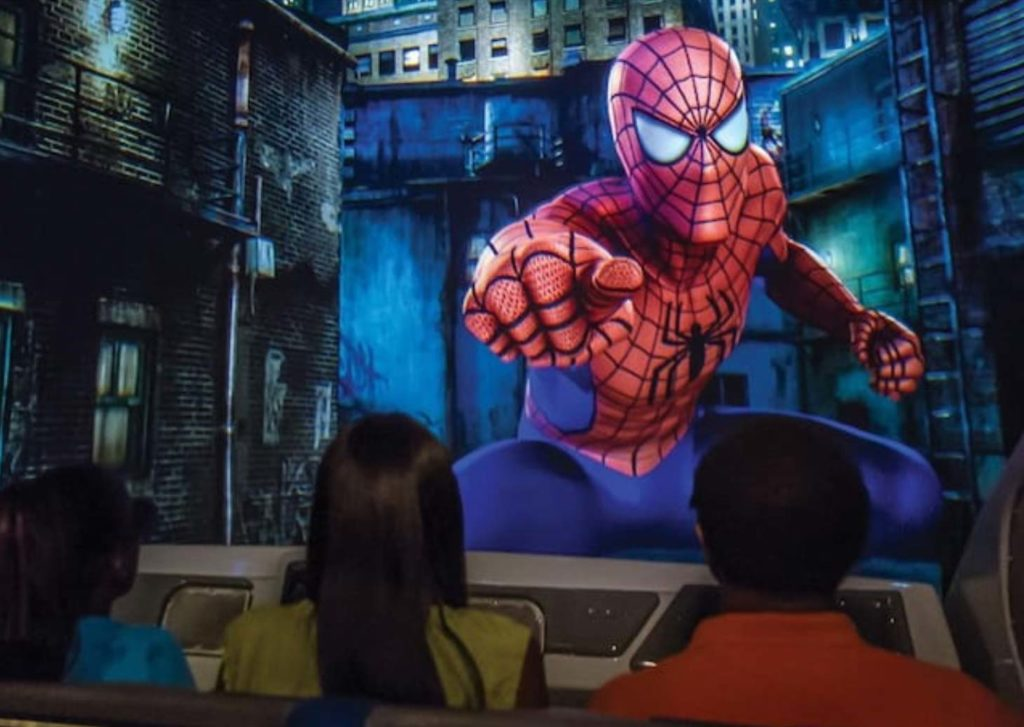 The Adventures of the amazing Spiderman at Universal Orlando