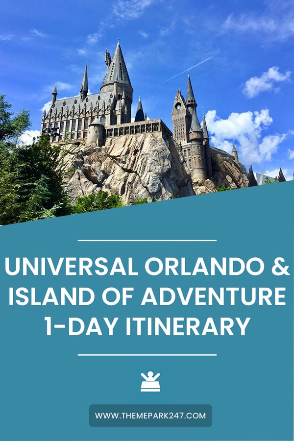 One day at Universal Orlando