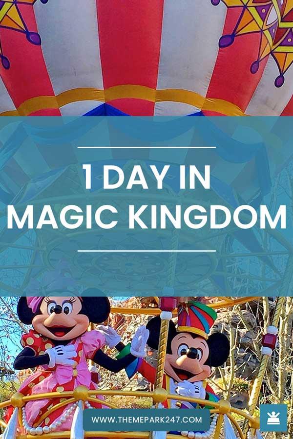 Magic Kingdom itinerary