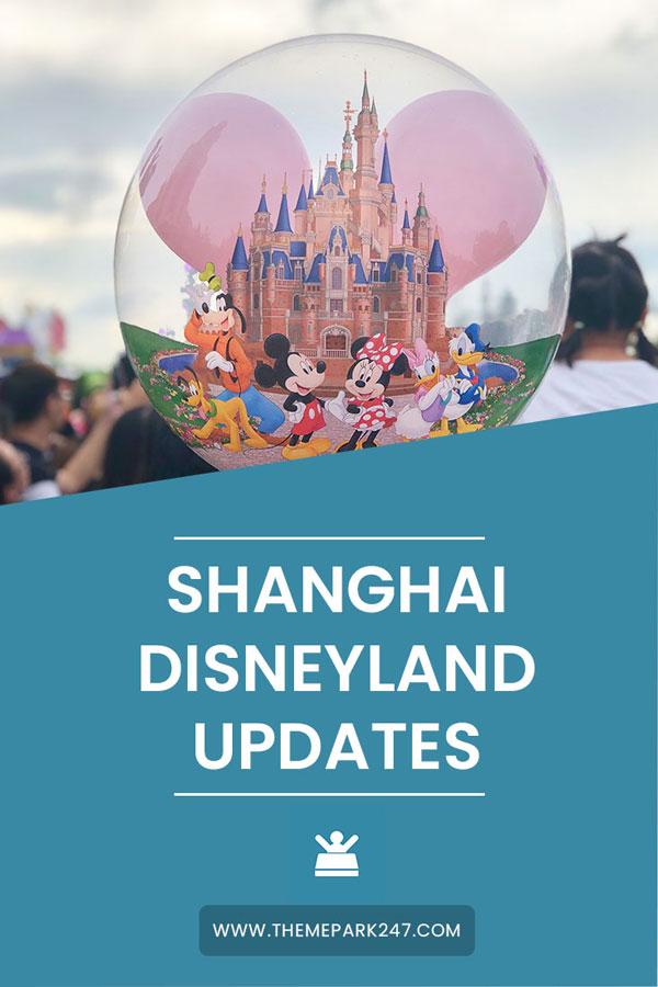 Shanghai Disneyland updates