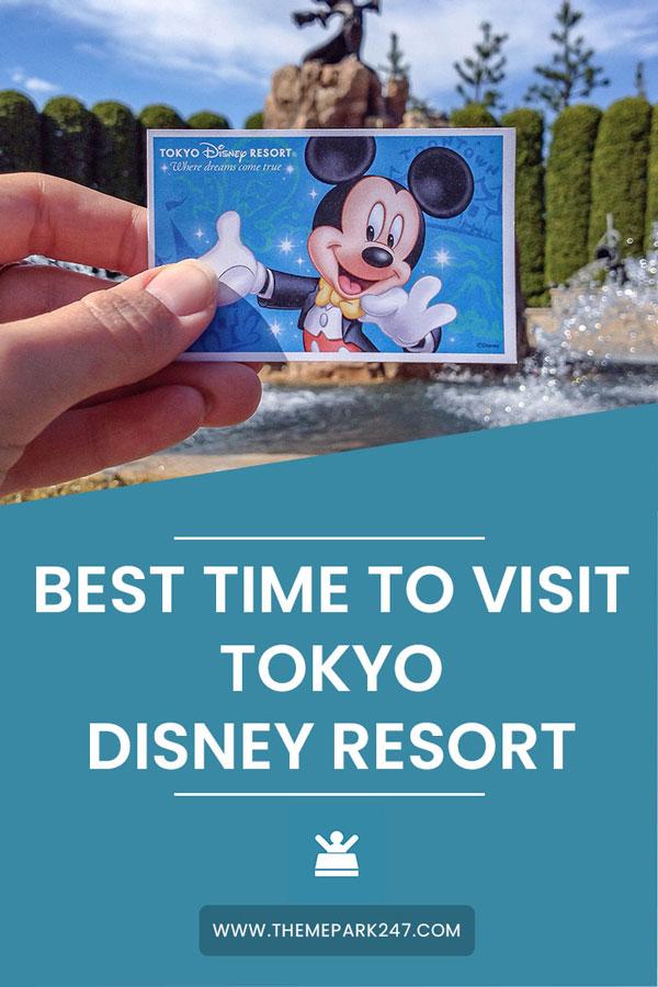 best time to visit tokyo disney