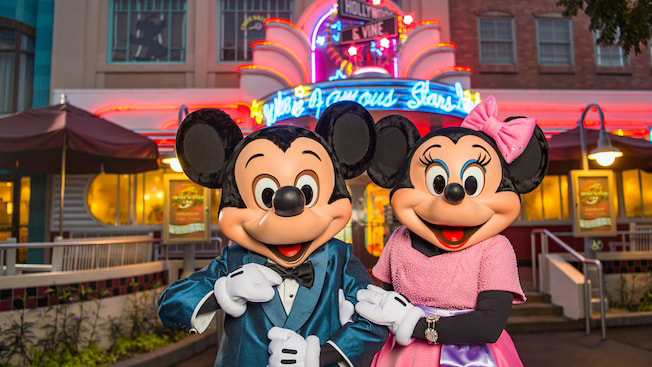 Hollywood and Vine at Disney World