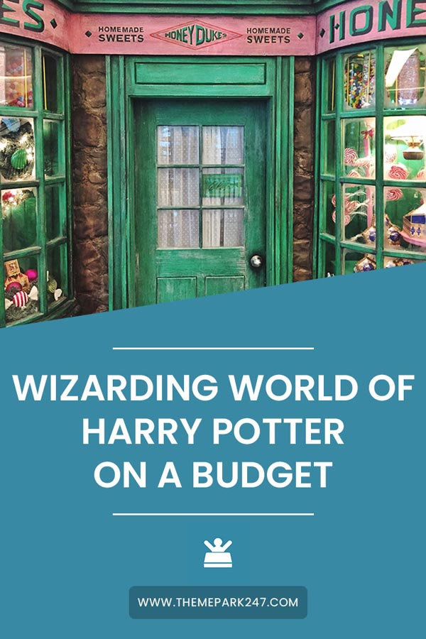 Harry Potter World on a budget