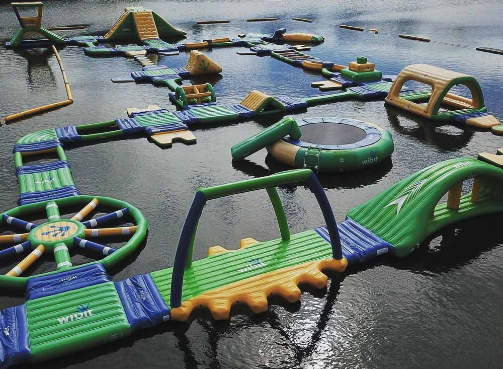 New Forest Water Park Bes ttheme parks in england